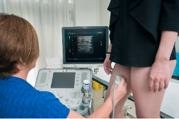 Vein and laser centre ultrasound